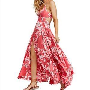 🆕Free People Lillie Print Maxi Dress
